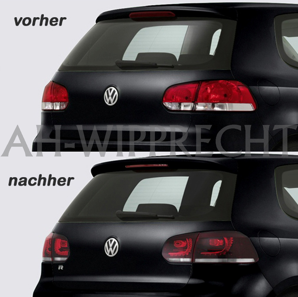 neu original golf r r20 r ckleuchten led vw golf 6 gti. Black Bedroom Furniture Sets. Home Design Ideas