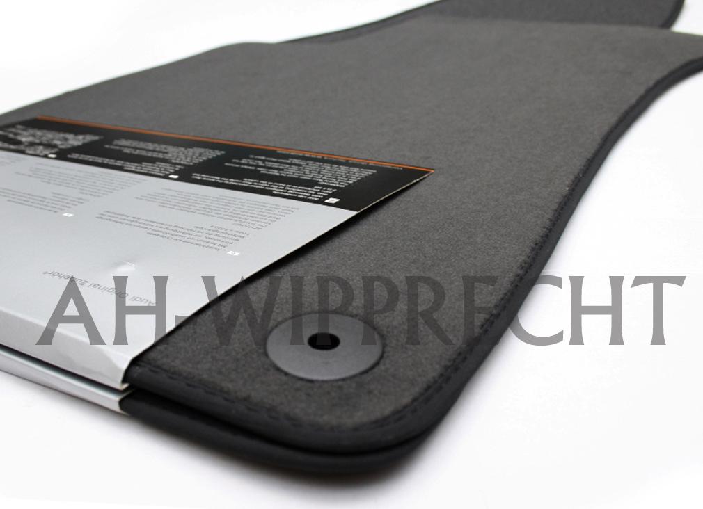neu audi rs4 s4 a4 b6 b7 8e stoffmatten veloure matten fu matten vorn fu matte. Black Bedroom Furniture Sets. Home Design Ideas