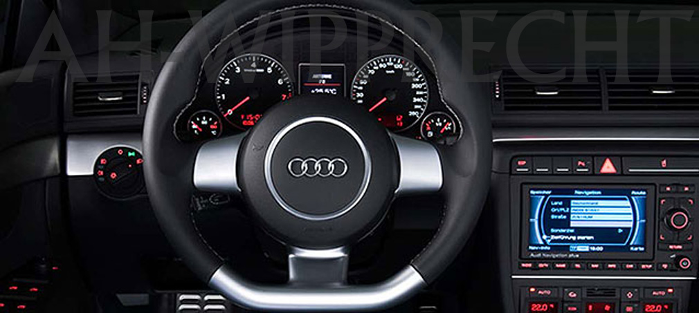 neu audi a4 s4 8e lenkrad mit airbag rs4 sportlenkrad. Black Bedroom Furniture Sets. Home Design Ideas