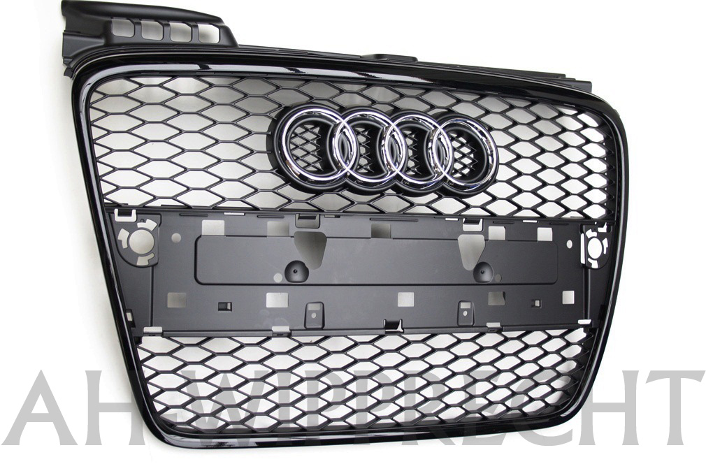 neu original audi rs4 s4 v8 8e b7 single k hlergrill grill. Black Bedroom Furniture Sets. Home Design Ideas