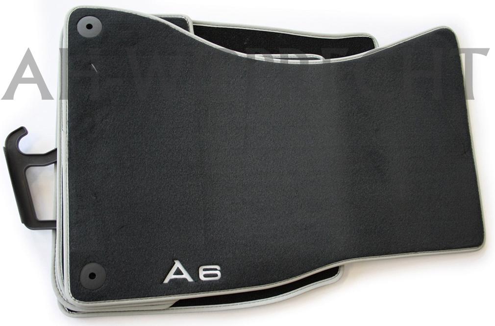 original audi rs6 s6 4g fu matten s line premium a6. Black Bedroom Furniture Sets. Home Design Ideas