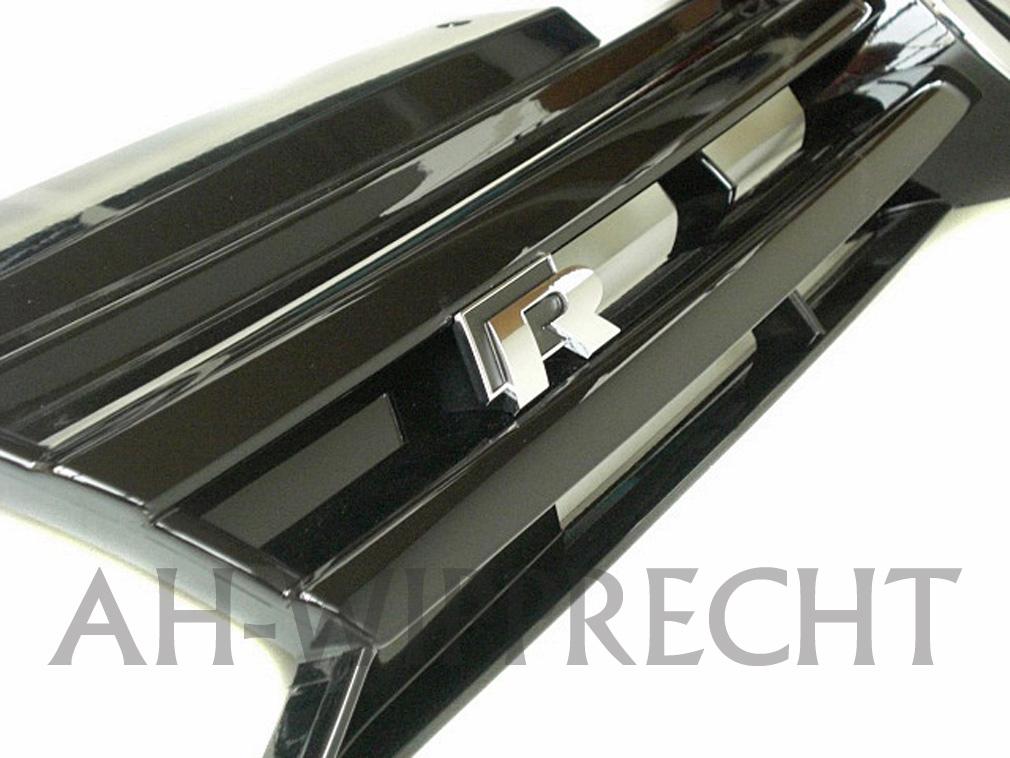 neu original vw k hlergrill tuning golf 6 r r line grill klavierlack frontgrill. Black Bedroom Furniture Sets. Home Design Ideas