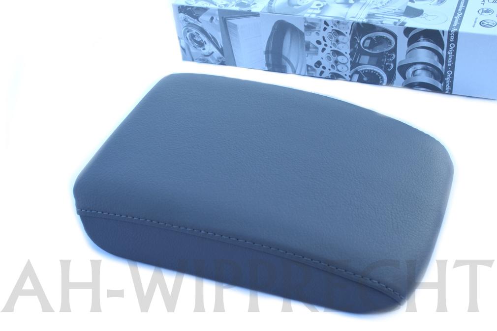 neu original vw golf 5 r32 gti armlehne deckel kunst leder. Black Bedroom Furniture Sets. Home Design Ideas
