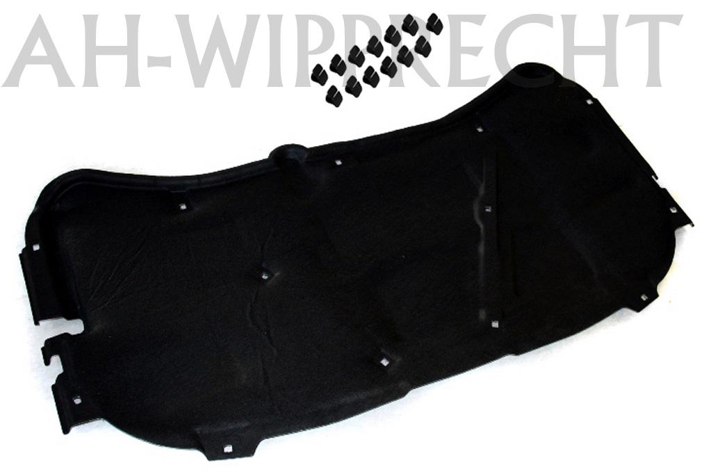 original gti r32 tdi motorhauben d mmung d mmmatte vw golf 4 bora 1j haube matte ebay. Black Bedroom Furniture Sets. Home Design Ideas